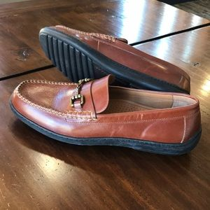 Cole Haan Brown Leather 8.5M Classic Penny Loafers